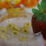 Honey Cheerios Smoothie