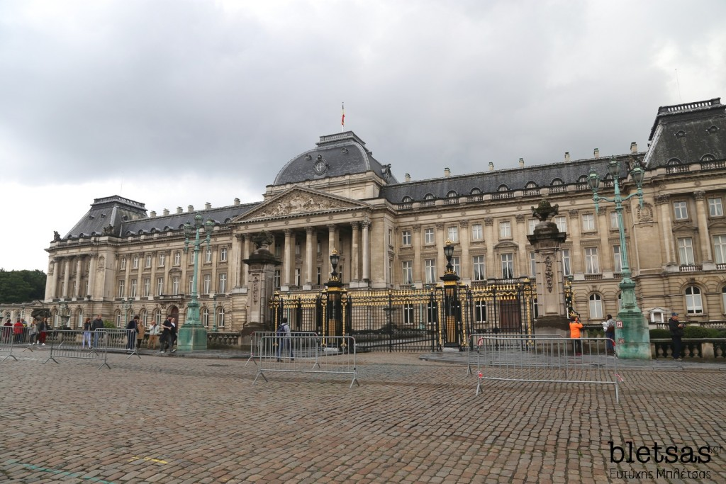 brussels belgium 2015 royal palace